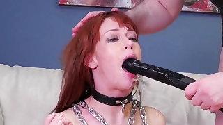 Cruel fist anal..
