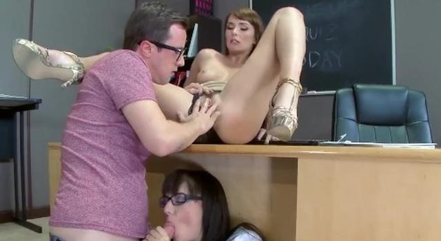 Teacher has..