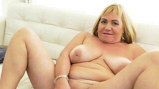 An older woman..