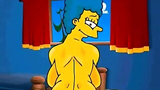 Marge Simpson..