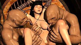 3D Slave Girls..