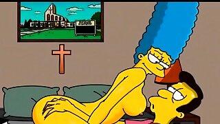 Marge Simpson..